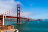 Golden Gate Bridge over the Bay