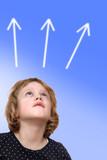Child looks up - 234921920
