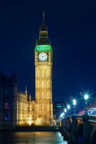 Big Ben At Night, London,  UK © Dmitry Pistrov
