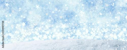 Christmas WInter Landscape  - 234947738