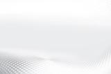 Futuristic grey and white halftone prespective interior background. - 235082178