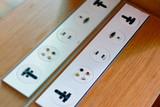 Universal electricity sockets & plug - 235144949