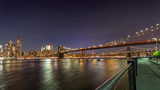 Manhatten Bridge bei Nacht © Susanne