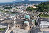 Panorama von Salzburg, Oesterreich