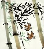 bamboo and birds © hikolaj2