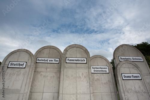 fototapeta na ścianę Radegast Station - the memorial of Jews in Poland