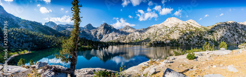 Panoramic Lower Rae Lakes, Sierras, CA - 235207936