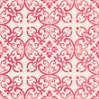 Elegant seamless Chinese style botanic garden flower spiral curve cross vine pattern background - 235259549