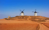 Tembleque windmills in Toledo La Mancha - 235283511