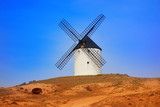 Tembleque windmills in Toledo La Mancha - 235283520