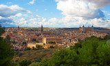 Toledo skyline in Castile La Mancha Spain - 235283544