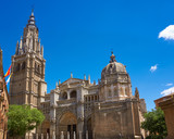 Toledo Cathedral in Castile La Mancha Spain - 235283976