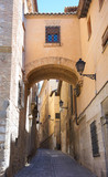 Toledo Angel street arch in Spain - 235284187