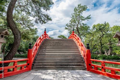 日本百名橋の住吉反橋