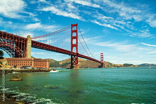 The Golden Gate Bridge, San Francisco, California, USA.