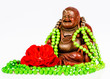 still life - statue of buddha candle