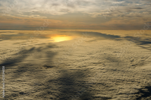 Flying above the clouds - 235346158