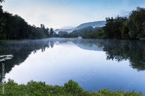 Lake in the Mist