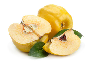 Quince ripe fruit