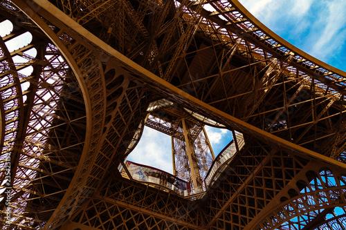 fototapeta na ścianę under Eiffel Tower