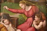Vierge au voile de Raphaël à la cathédrale de Tolède, Espagne - 235439124