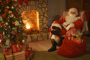 Santa Claus Christmas Eve