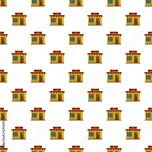 fototapeta na ścianę Toy shop pattern seamless vector repeat for any web design
