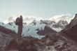 Leinwandbild Motiv Hike in Patagonia