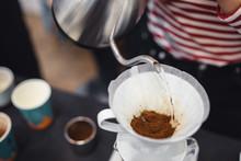 "Постер, картина, фотообои ""pour over coffee"""