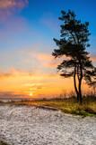 Wunderschöner Sonnenaufgang an der Ostsee