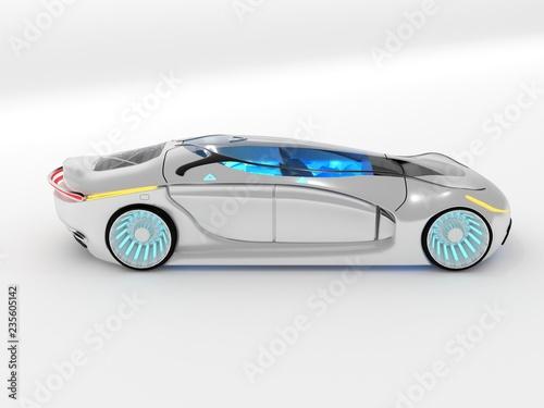 Electric autonomous concept car - 235605142