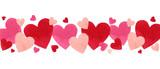 Happy Valentines day watercolor vector illustration. - 235622596