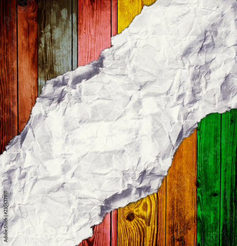 colorful wooden background - 235637918