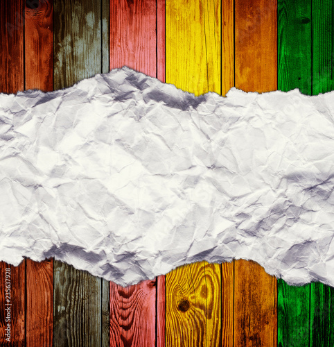 colorful wooden background - 235637928