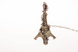 Little model Eiffel Tower  in chains © berkay08