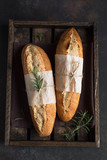 bread with rosemary - 235656148