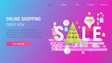 Christmas Shopping Landing Page - 235673180