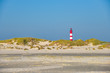 Leinwanddruck Bild - Insel Amrum am sonnigen Hersttag