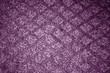 Violet color textile carpwt patttern