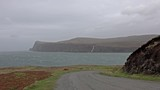 Cliffs seen from Lower Milovaig during the autumn storm Callum - Isle of Skye, Scotland - 235687183