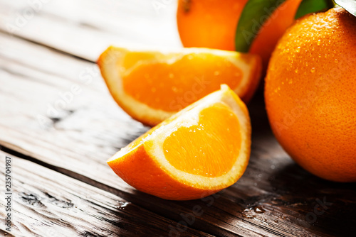 Fresh Italian oranges - 235704987
