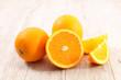 Quadro fresh orange slices