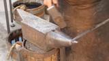 Blacksmith working iron. - 235752160