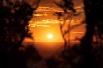 sunset at Punta Prima, Majorca, Spain © Ugo Burlini