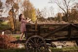 Cute little girl on a farm - 235788528