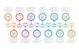 Timeline Infographics - 235839186