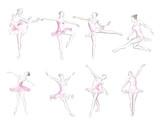 Classical ballet woman-dancers - 235945552