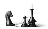 Modern chess pieces