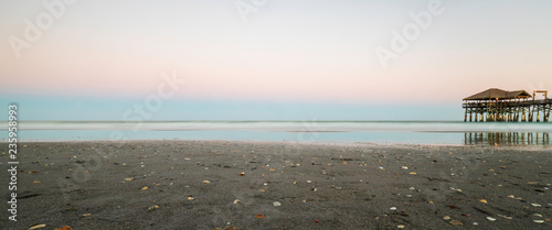 sunset on the beach - 235958993