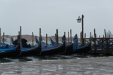 Venetian boats on the water